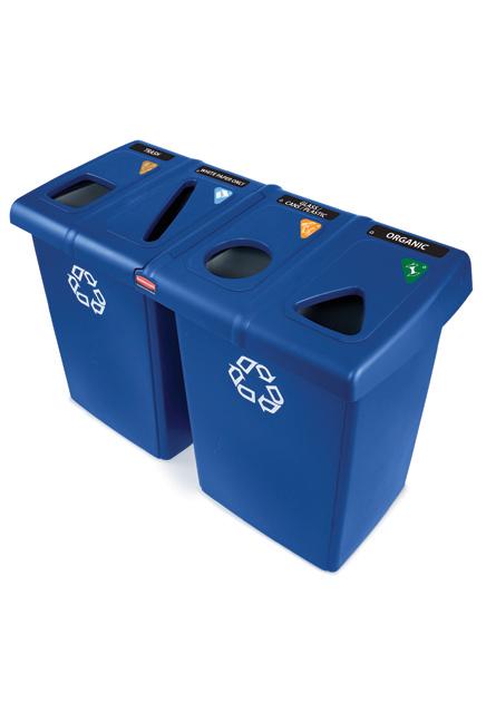 Le bac de recyclage Glutton
