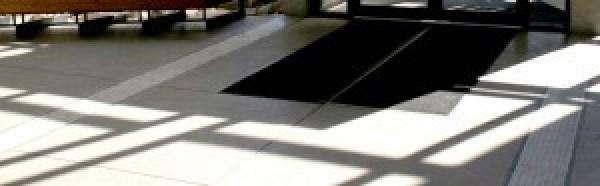 Entretien des tapis d'entrée