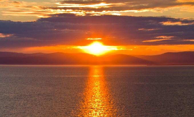 Rivière-du-Loup coucher de soleil