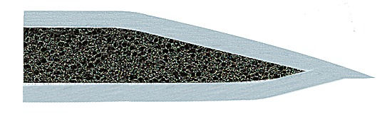 tapis scellé avec-endos