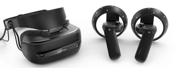 Réalité virtuelle avec le casques Lenovo Microsoft Mixed Reality