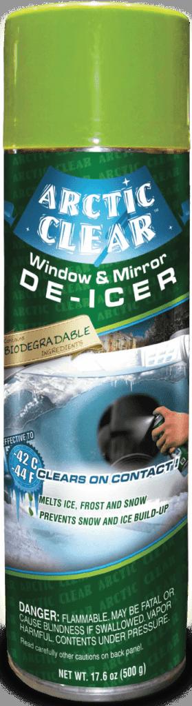 Dégivreur à vitres et miroirs Arctic Clear