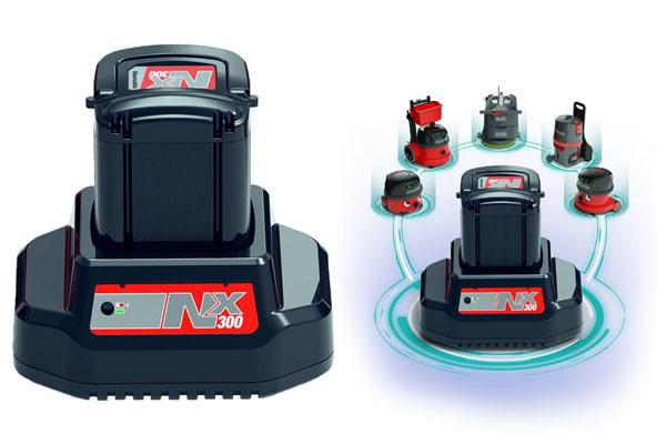 Batterie au lithium-ion de haute puissance NX300