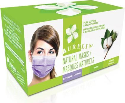 Les masques naturelles 100% cotton