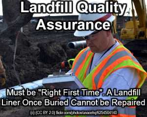 Landfill Construction Quality Assurance article - Landfill Quality Assurance.
