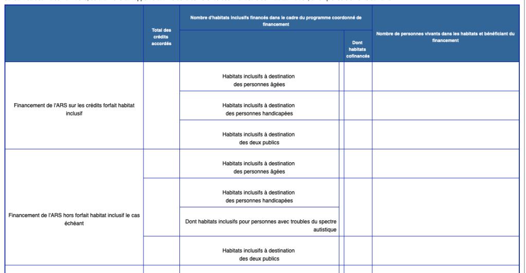 Modele Du Rapport D Activite De La Conference Des Financeurs De L Habitat Inclusif Pour Les Personnes Handicapees Et Les Personnes Agees