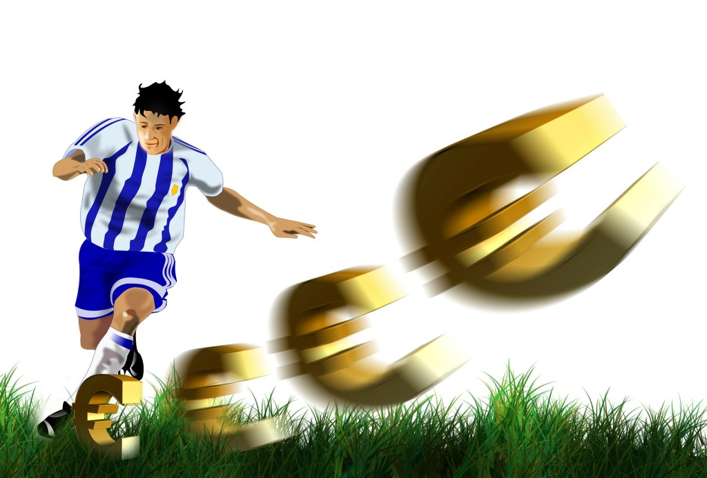 sport foot football argent