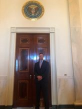NALP President Jeff Buhler of Massey Services attends White House event representing landscape industry careers.