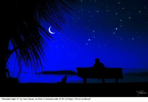 Ramadan night photo multicultural bilingual