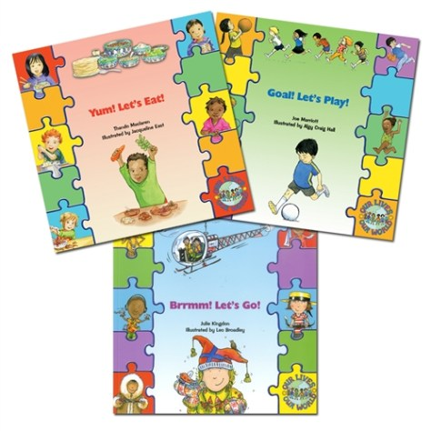 CHILDREN'S BOOKS ABOUT DIVERSITY: FOOD, GAMES, TRANSPORTATION (3 BOOK SET)