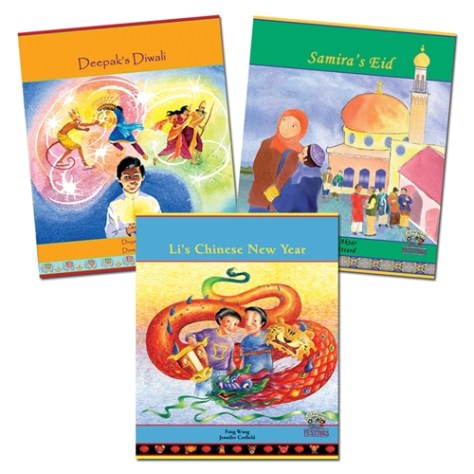 CULTURAL HOLIDAYS: DIWALI, EID & CHINESE NEW YEAR (3 BOOK SET)