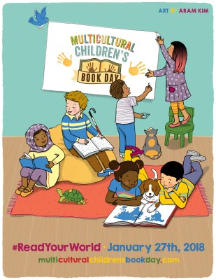 Multicultural Children's Book Day 2018 free poster