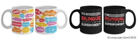 bilingual mugs