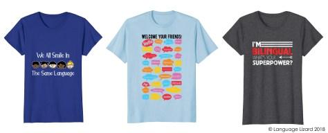 bilingual shirts
