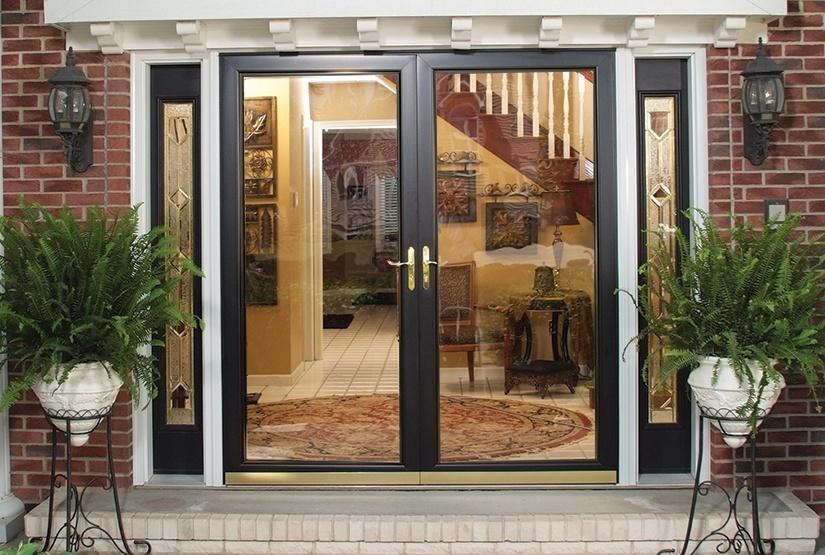 measuring french door style storm doors
