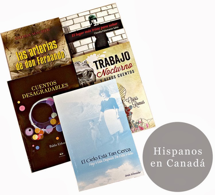 En estas fiestas regale también literatura hispana escrita en Canada