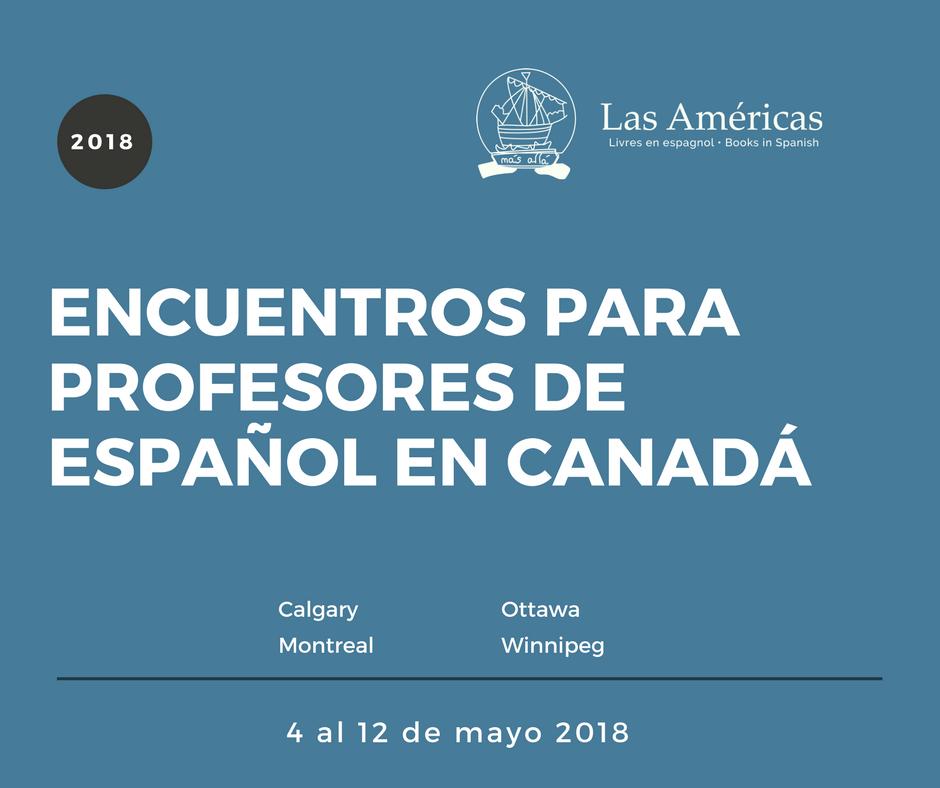 Encuentros para profesores de español en Canadá