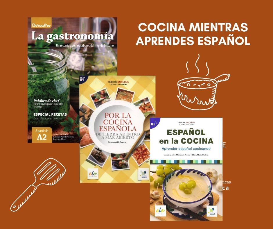 Cocina mientras aprendes español