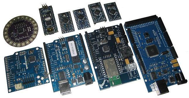 Krátký přehled Arduino desek