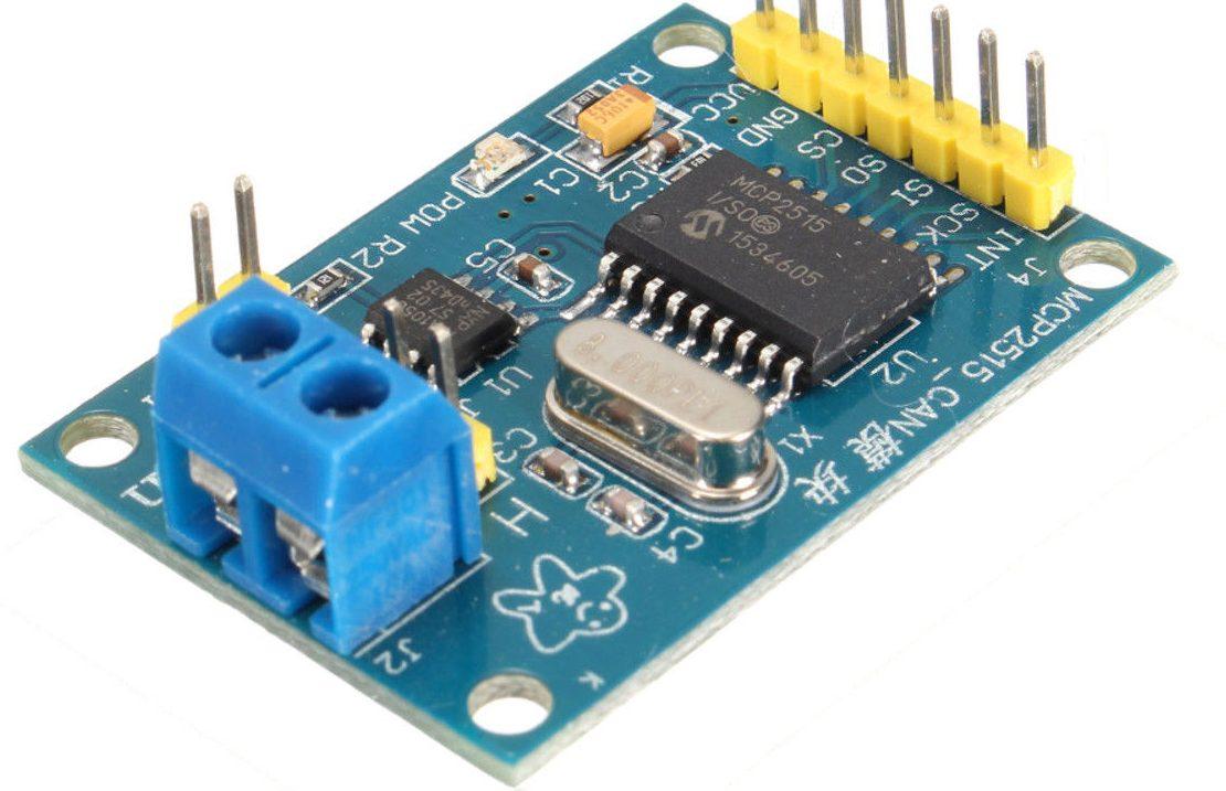 CAN převodník MCP2515 (čtení informací) – část 1.