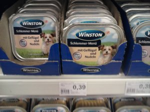 Nudeln für Hunde...