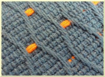 Ampliación alfombra puntos