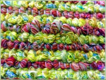 Textura alfombra Argola con flecos