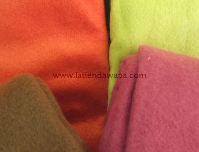 Mantas colores