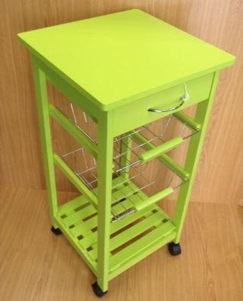 Mueble verde para cocina