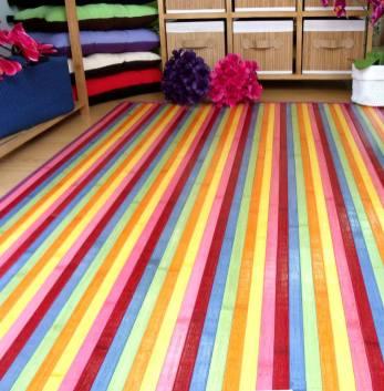 Y m s alfombras de bamb de colores blog de latiendawapa - Alfombras de bambu baratas ...