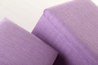 Puffs lila con arcón