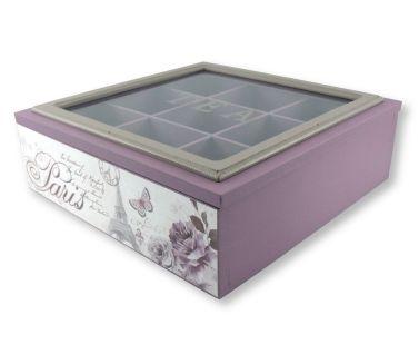 Caja de tés