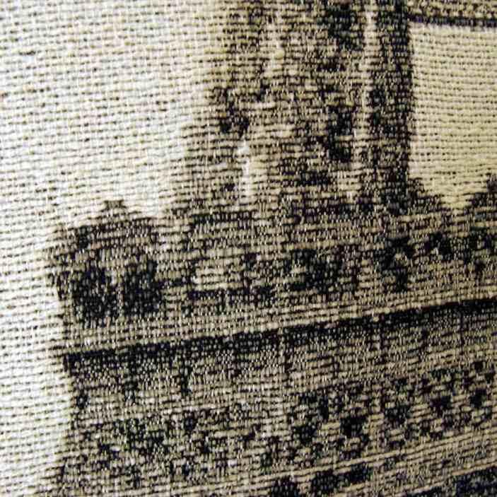 Cojín Torre Eiffel