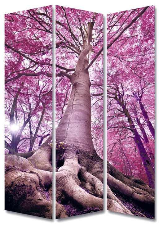 Biombo fotoimpreso bosque