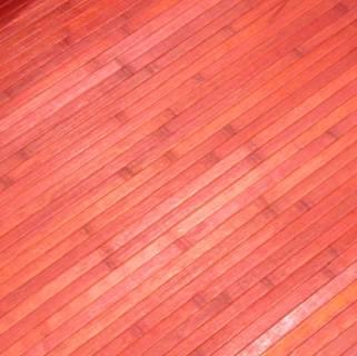 Alfombra de madera de bambú