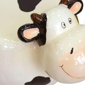 Figura decorativa vaca