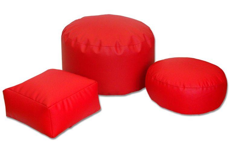 Puffs asiento y reposapiés