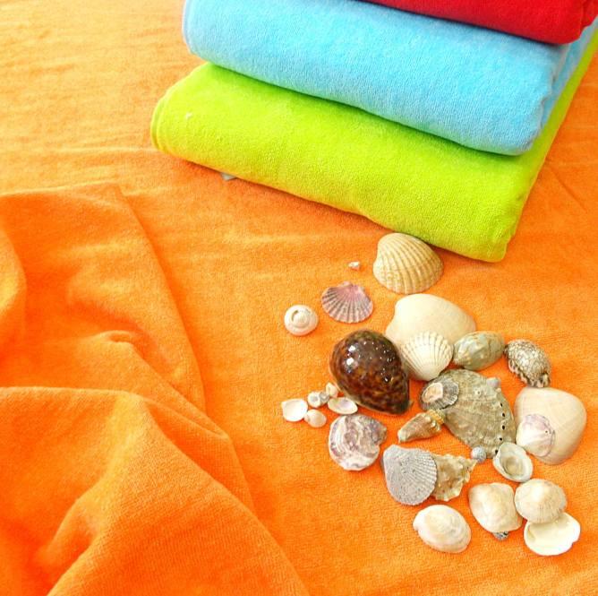 Toalla de playa colores lisos