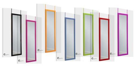 Espejos de cuerpo entero para suelo puerta y pared for Como colgar un espejo en la pared