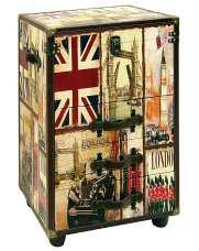 Cajonera con decoración London