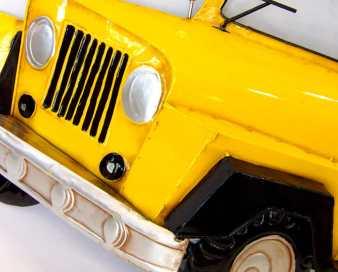 Decoración pared metal Jeep
