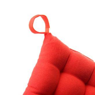 Cojín de silla cuadrado