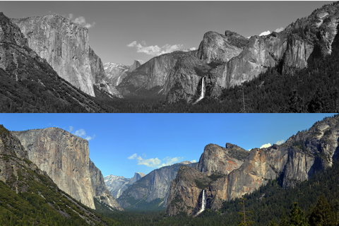 Tunnel View Panorama Composite