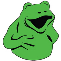 Laughing Frog Images' logo, www.laughingfrogimages.com