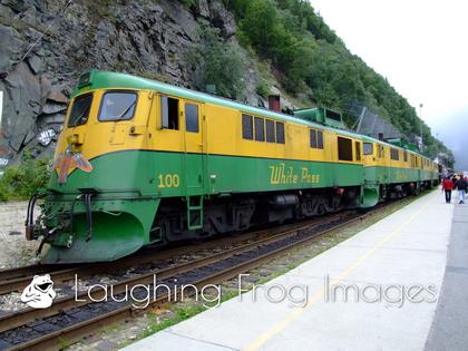 White Pass & Yukon GE #100, Skagway AK.