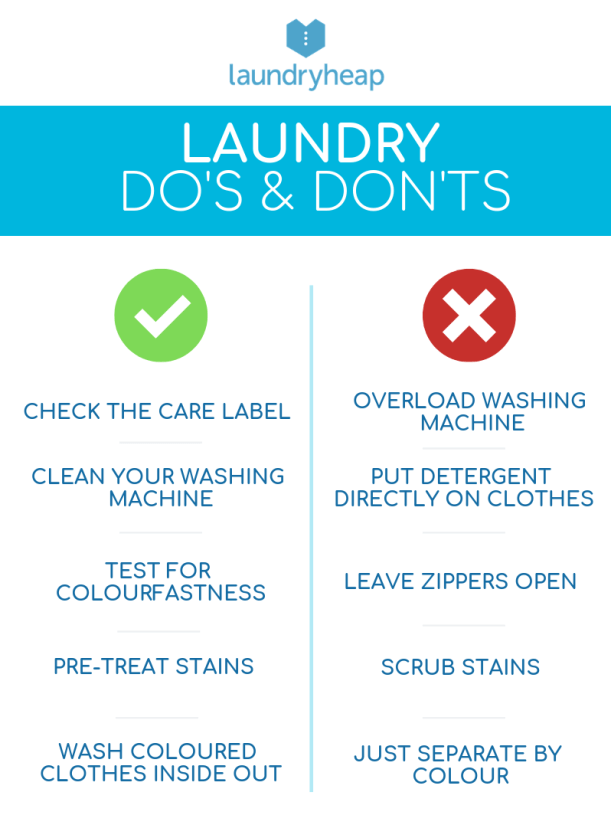 Laundry Do's and Don'ts