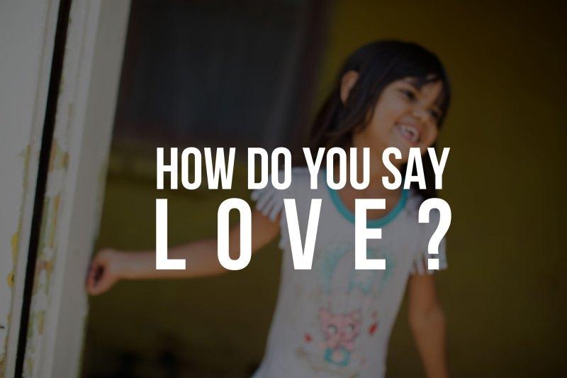 Como se dice люблю?