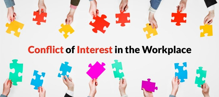 Conflict of Interest in the Workplace