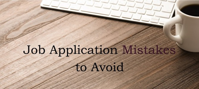 Job Application Mistakes to Avoid
