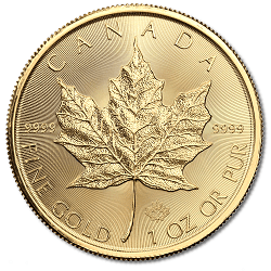 Canadian Gold Maple Leaf